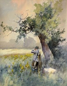 NEOGRÁDY ANTAL (1861-1942) Master Art, Painters, Watercolor Paintings, Europe, Antiques, School, Watercolour Paintings, Antiquities, Antique