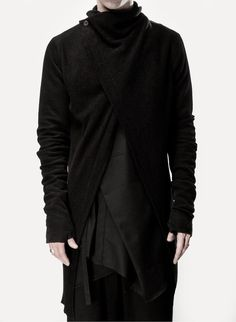 Visions of the Future: Lost and Found. Geo sleeve knitwear jacket. Make cropped/bolero length.
