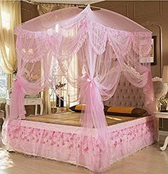 Spirited Palace Style Round Dome Crib Mosquito Net Luxury Baby Bed Mosquito Nets With Luminous Stars All-around Protect Baby Bed Canopy Complete Range Of Articles Crib Netting Mother & Kids