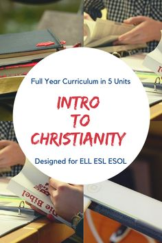 An entire year long curriculum in 5 separate units. No prep needed! Includes units: Using the Bible, Who is God, Life of Jesus, Jewish history, Church history and growth Jewish History, Church History, Modern Church, Lesson Plans, Separate, Curriculum, Christianity, Bible, Teacher
