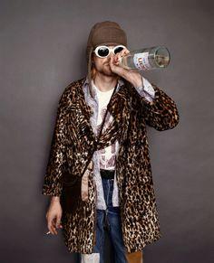 vintage everyday: The Last Photo Shoot of Kurt Cobain, 1993