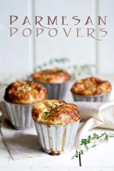 Parmesan Popovers tasty