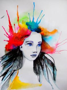 """Saatchi Art Artist Maria Iurskaya; Painting, """"This moment - is all what you really have"""" #art"""