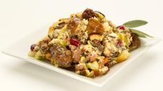 Minnesota Wild Rice Stuffing with an Italian Twist