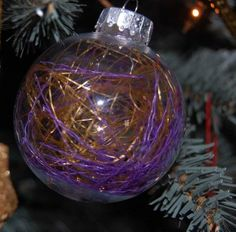7 Days of Easy Homemade Christmas Ornaments – Day 2 Fill Empty Bulbs