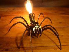 Large spider lamp by artbug on Etsy, $150.00