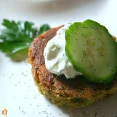 """Sean's Falafel and Cucumber Sauce   """"This is a great recipe for falafel. Everyone that I have made it for loves it. Yum!"""""""