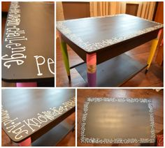 Create, Teach, and Share: Classroom Creation: Such an adorable pencil table!