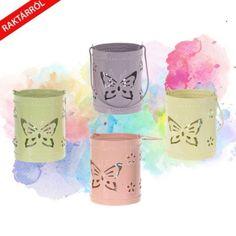 Lilly fém mécsestartó több színben, virágos, madaras vagy pillangós kivitelben. Travel Mug, Mugs, Tableware, Design, Dinnerware, Tumblers, Tablewares, Mug