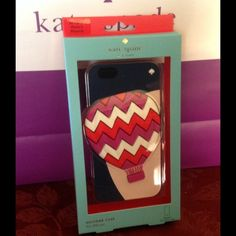 Kate Spade Hot Air Balloon Case iPhone 6 and 6s Gorgeous Hot Air Balloon Silicon Kate Spade Phone Case for iPhone 6 and iPhone 6s.  New in original packaging.  No Trades kate spade Accessories Phone Cases
