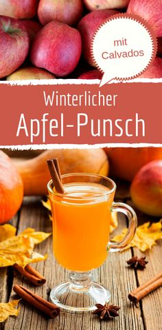 Wärmender Winter-Apfel-Punsch mit Calvados Sponsored Sponsored Warming winter apple punch with calvados Christmas Drinks, Holiday Drinks, Holiday Recipes, Healthy Starbucks Drinks, Healthy Drinks, Winter Cocktails, Summer Drinks, Ginger Ale, Smoothie Bowl