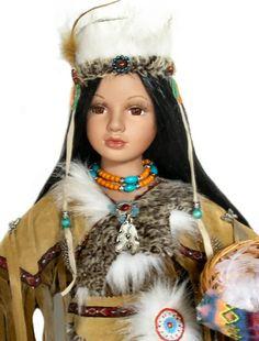 indian doll keteacha porcelain