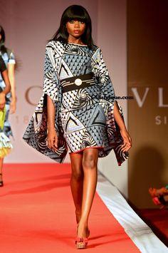 Mode ivoirenne et stlyliste ivoirien eloi sessou a vlisco-fashion show-cotonou