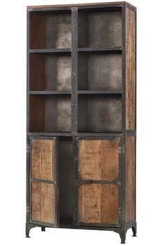 Manchester Cabinet - Industrial Cabinet - Living Room Storage Cabinets - Living Room Cabinets - Reclaimed Wood Furniture | HomeDecorators.com