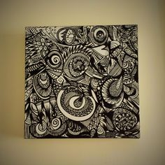 Hey, I found this really awesome Etsy listing at https://www.etsy.com/listing/202995200/black-ink-freehand-drawing-on-white-box