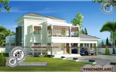 ideas house design architecture indian for 2019 Modern Houses Pictures, House Plans With Pictures, House Design Pictures, Best Modern House Design, Latest House Designs, Small House Design, Modern House Floor Plans, Contemporary House Plans, New House Plans