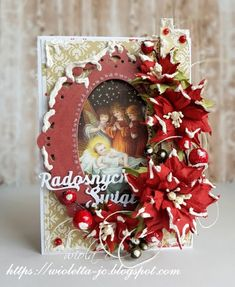 Kartka świąteczna na Boże Narodzenie