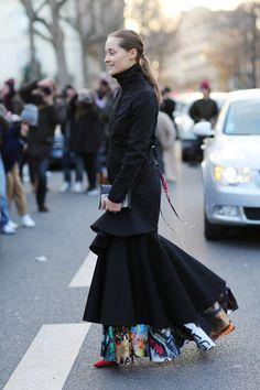 We round up the crème de la crème of street style from Paris Fashion Week