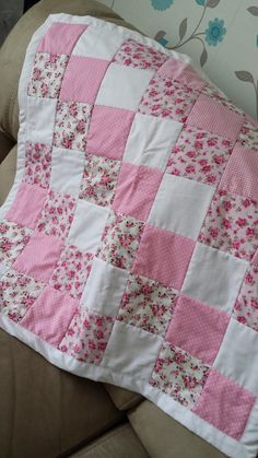 Patchwork Quilt Cath Kidston & Rose and by LoveInEveryStitchxXx