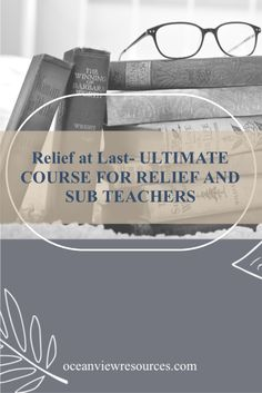 Relief At Last!!COURSES FOR TEACHERS WORKING IN RELIEF, SUPPLY OR SUBSTITUTE ROLESAre you struggling to figure out what to put into your Relief Teaching Kit and, what to leave .Oceanview Resources ® cuts through the stress and overwhelm and gives you a simple, step-by-step method to streamline your workload and build an engaging and practical resource kit for yourself. My range of courses will help you with many of the more challenging aspects of working as a Relief/Supply or Substitute…