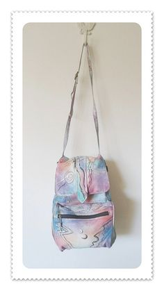 The Animal  Backpack or Shoulder Purse Handpainted by pursenbootz, $24.95