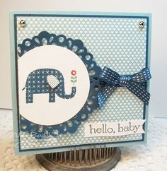 It's a Stamp Thing: Sweet Sunday....hello, baby