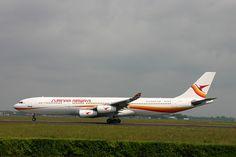 Surinam Airways A340 PZ-TCP seen during take-off from Schiphol's Polder Runway (C/N 49)     Viettel IDC tại địa chỉ Tòa nhà CIT, Ngõ 15 Duy Tân - Cầu Giấy - Hà Nội:
