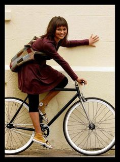Bicycle girl  http://bicycle-babe.tumblr.com/