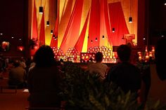 Taize service, Taize France.  Traveled there in 2007.