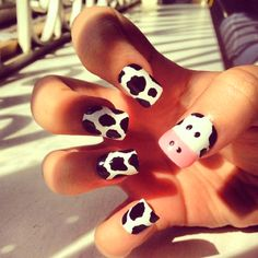 #cow #nails