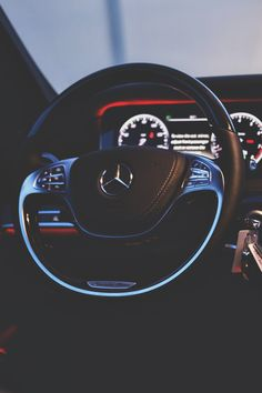 S Class Steering Wheel #Benz #Mercedes