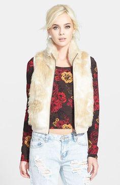 Tildon Faux Fur Vest available at Nordstrom