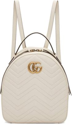 Gucci White GG Marmont Backpack  gucci  ShopStyle  MyShopStyle click link  for more information 22f2da6f31eb0