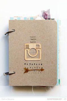 portada para tu álbum de fotos #ideas #scrap #album #fotos