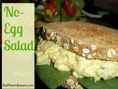Ingredients: 1 block firm tofu, squeezed dry ¾ cup chickpeas, rinsed and drained ¼– ½ cup Low-Fat EgglessMayo(recipe below) 1/3cup Dijon mustard ½ cup celery, diced ½ green onions, with …
