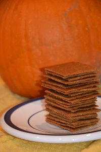 Pumpkin Spice Graham Crackers