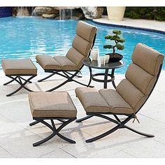 Garden Oasis  Prescott 5 Pc. Seating Set | Online only | Sears  Item#  07180276000 | Model#  112-067-5C-V3