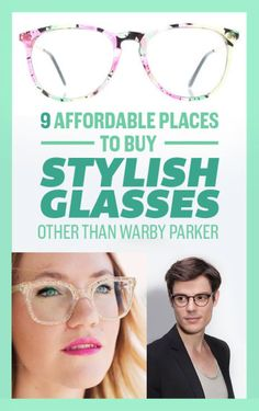 f569237bcff 9 Affordable Places To Buy Stylish Glasses Other Than Warby Parker Cheap  Glasses Online
