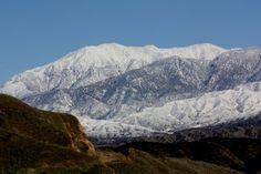 Mount San Gorgonio, CA withSnow