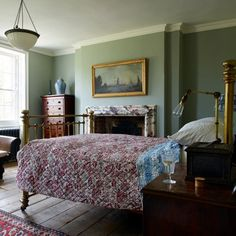 Get inspired by all our bedroom ideas, including this including this antique-decorated bedroom in London belonging to Jamb's Will Fisher