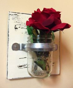 Cool wall vase.