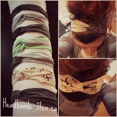 Tutorial: Headbands JANUARY 17, 2014 |  BY ALI  |  SEWING, TUTORIALS  |     Have some scraps of jersey knit fabric? You need to make headban...