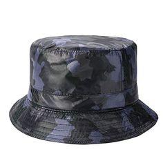 f8d43d95e37120 Netursho Outdoor Bucket Rain Hat Wide Brim Waterproof Hat for Men Women One  Size #Netursho