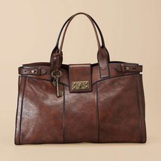 Fossil Vintage Re-Issue Weekender (I have this bag in a different color. It's one of my favorites.)