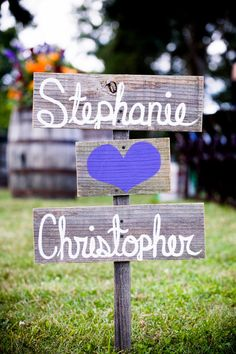 Wedding Sign Names and Love Heart Romantic by TRUECONNECTION, $50.00