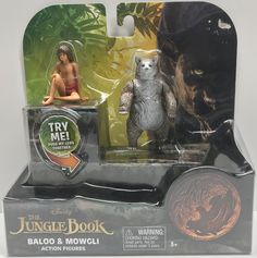 The Angry Spider Has All Of The Toys You Want For Your Collection: TAS038094 - 2016 ...  Check it out here! http://theangryspider.com/products/tas038094-2016-disney-the-jungle-book-baloo-mowgli-action-figures?utm_campaign=social_autopilot&utm_source=pin&utm_medium=pin