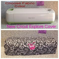 New Cricut Explore Cover Embroidered Quilted Free Choose Color | eBay