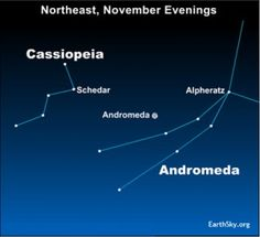 What's the easiest way to find the Andromeda galaxy?  Many use the constellation Cassiopeia, which is shaped like an M or W.
