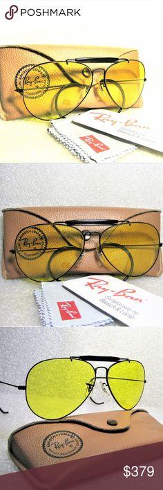 198ed56b6e2 Ray-Ban USA NOS B L Aviator Kalichrome Sunglasses  New Rare Ray-Ban USA