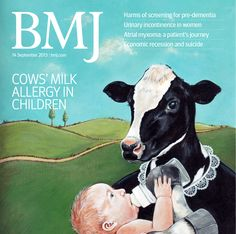 This week's issue covers everything from cows' milk allergy to the impact of austerity on suicide rates. Read the issue here http://www.bmj.com/content/347/7925
